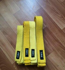 Желтые пояса sports