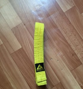 Желтый пояс yunior