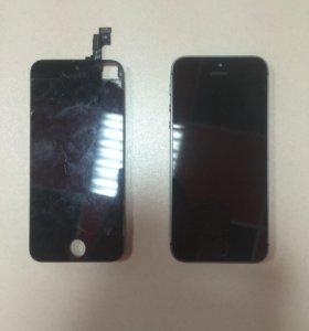 Замены дисплея на iPhone + power bank в подарок !!