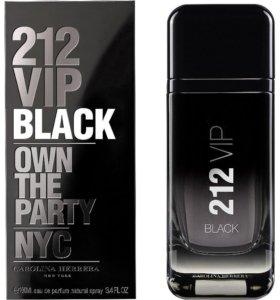 CAROLINA HERRERA 212 VIP BLACK, 100 ml