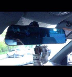 Зеркало + регистратор + Камера заднего входа .