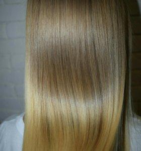 Керановое восстановление и ботокс для волос
