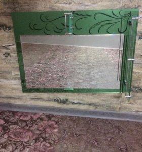 Продам новое зеркало в ванную