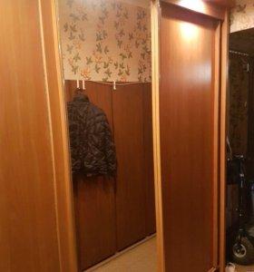 Шкаф купе трехстворчатый с подсветкой