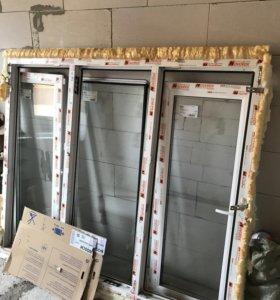 Пластиковые окна новые
