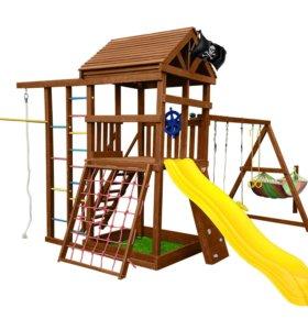 Детская игровая площадка для дачи КАРИБЫ