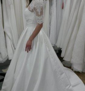 Свадебное платье+болеро