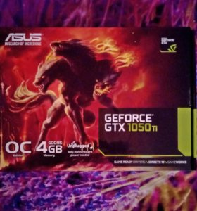 Видеокарта Gtx 1050 ti