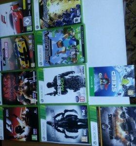 Игры лицензионные Xbox 360 и One