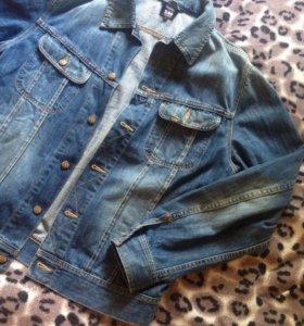 Джинсовая куртка (ветровка, джинсовую) мужская LEE
