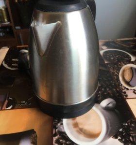 Чайник электрический нержавеющий