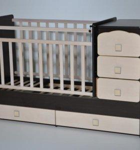 Детская кровать-трансформер Ульяна - 2. Новая