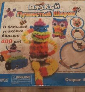 """Продам детский конструктор """" вязкий пушистый шарик"""