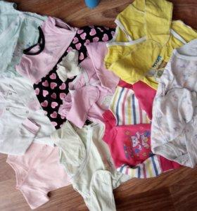 Продам пакет вещей для девочки с рождения