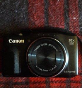 CANON SX700HS отличный фотик зум 30 МП 16,1