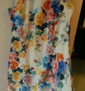 Новое платье 46 размер летнее
