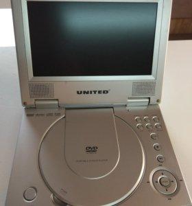 Портативный DVD-плеер United DVP6050