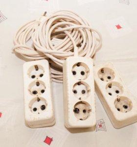 удлинители электрические бытовые