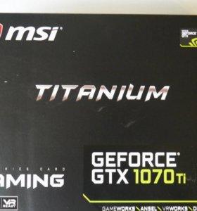 MSI nvidia GeForce GTX 1070Ti Titanium 8GB gddr5