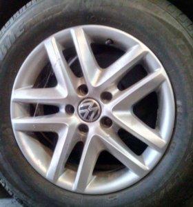 Комплект колес Volkswagen Tiguan R16 -Оригинал