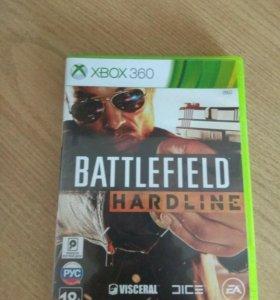 Игровой диск Battlefield Hardline для XBOX360