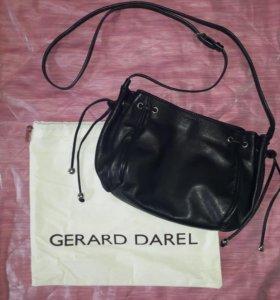 Сумка кожаная Gerard Darel