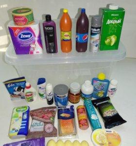 Мини-лента продукты и товары