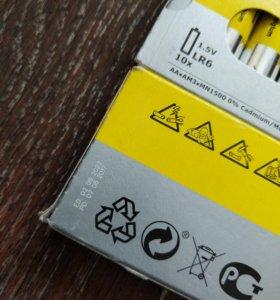 Пальчиковые батарейки ИКЕА