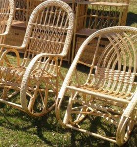 Мебель из натурального ротанга (ива) ручной работы