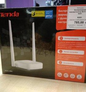 Новый роутер TENDA N301