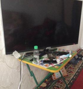 Телевизор шиваки 40 дюймов. Треснул экран.