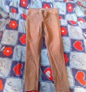 Летние брюки, снизу с замочком