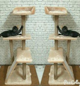 Когтеточка для кошек Мамба на столбах