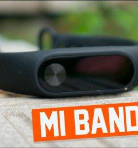 Xiaomi Mi Band 2 умный фитнес браслет. Оригинал