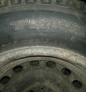 Запасное колесо  R15 205 60