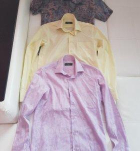 Фирменные рубашки S размера
