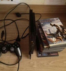 PlayStation 2 + игры срочно!