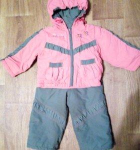 Весенне-осенний костюм 86-92 для девочки
