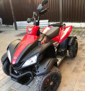 Детский электроквадроцикл Dongma ATV Red 12V