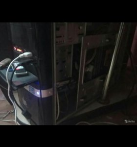 Готовый компьютер (корпус с начинкой + монитор)