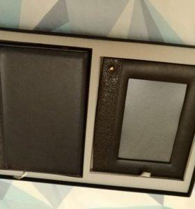 Ежедневник + рамка для фото (подарочный набор)