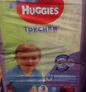 Подгузники трусики 7-11 кг haggies