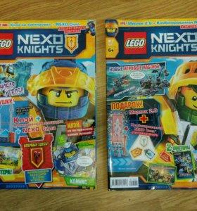 Журналы Lego Nexo knights