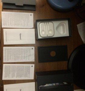 Коробка от чёрного IPhone 5