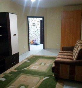 Квартира, 1 комната, 45.8 м²