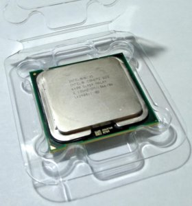 Процессор Intel Core 2 Duo E6400 с кулером