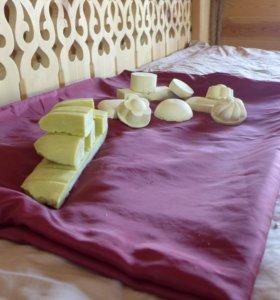 Мыло оливковое(Кастильское,Алепское) ручной работы
