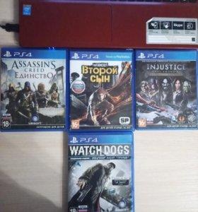 Продаю игры на PS4(б.у)