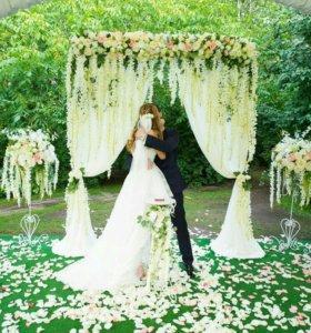 Оформление свадьбы. Президиум