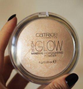 Хайлайтер пудра Catrice High Glow mineral powder